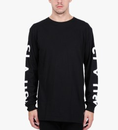Stampd Black 1993 L/S T-Shirt  Model Picutre
