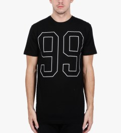 Stampd Black 99 T-Shirt Model Picutre