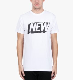 Stampd White New T-Shirt Model Picutre