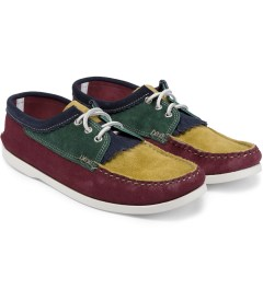 Yuketen Multicolor 00200KM Blucher W/Kiltie Shoe Model Picutre