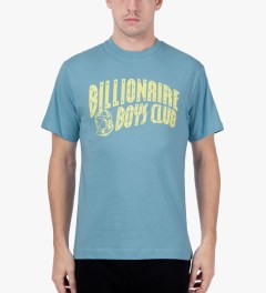Billionaire Boys Club Dusk Blue/Sunshine S/S Classic Arch Logo T-Shirt Model Picutre