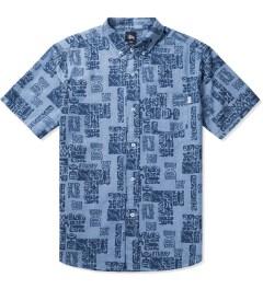 Stussy Blue Bula Shirt Picutre