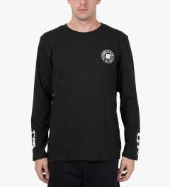 Undefeated Black BS L/S T-Shirt Model Picutre
