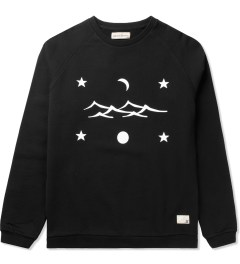 Libertine-Libertine Black/White Grill Space Sweatshirt Picutre