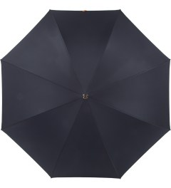 London Undercover Navy City Gent Lifesaver Umbrella Model Picutre
