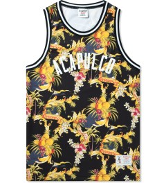Acapulco Gold Black Palm Springs Basketball Jersey Picutre