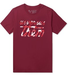 Us Versus Them Dark Red Tropical Magnum SS T-Shirt Picutre