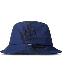 ONLY Cobalt Ferns Bucket Hat Model Picutre