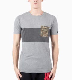 ZANEROBE Light Grey Quest T-Shirt Model Picutre