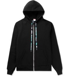 POW! WOW! White on Black 2014 POW! WOW! Hawaii Zip Hoodie Picutre