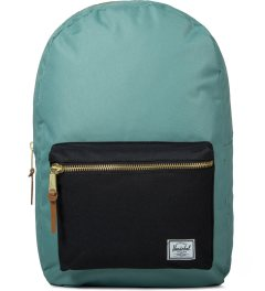 Herschel Supply Co. Seafoam/Black Settlement Backpack Picutre