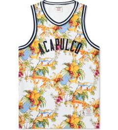 Acapulco Gold White Palm Springs Basketball Jersey Picutre