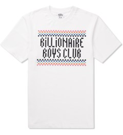 Billionaire Boys Club White S/S Checkmate T-Shirt Picutre