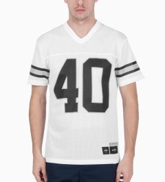 40 oz NYC White 40 Jersey Model Picutre