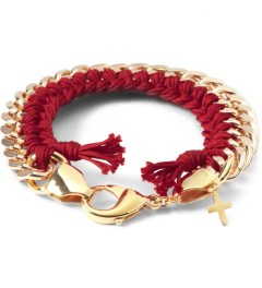 THE RHOD Red Classic Woven Bracelet Picutre