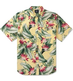 HUF Yellow Birds of Paradise S/S Woven Shirt Picutre