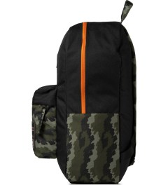 Benny Gold Benny Gold x Jansport Fog Camo Superbreak Backpack Model Picutre