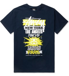 Stussy Navy International World Tour T-Shirt Picutre
