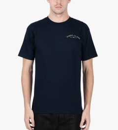 Benny Gold Navy Airway T-Shirt Model Picutre