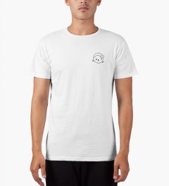 The Quiet Life White Premium Concert T-Shirt Model Picutre