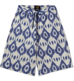 10.Deep White Cosy Shorts Picutre