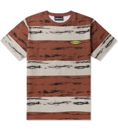 The Hundreds Maroon Marble T-Shirt Picutre