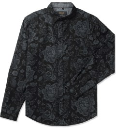 10.Deep Black DVSN One Up Button Down Shirt Picutre