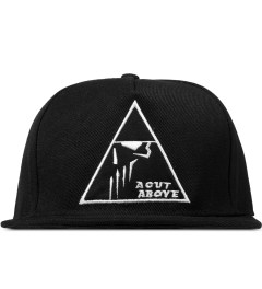 A Cut Above Black Pyramid 5 Panel Snapback Picutre