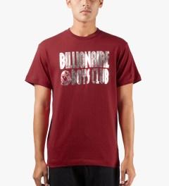 Billionaire Boys Club Chili Pepper S/S Straight Logo T-Shirt Model Picutre