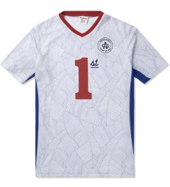 Acapulco Gold White First Team Soccer Jersey Picutre