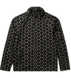 JohnUNDERCOVER Black/Charcoal Geometric Jacket Picutre