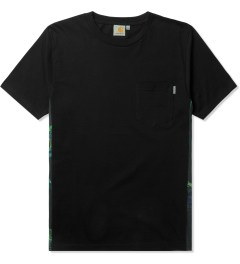 Carhartt WORK IN PROGRESS Black/Trunk Print S/S Glan T-Shirt Picutre