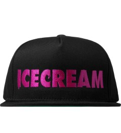 ICECREAM Black Ice Logo Cap Picutre