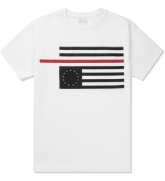 Black Scale White Rebel Red Flag T-Shirt Picutre