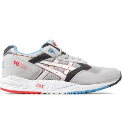 ASICS Soft Grey/White Gel Sage Sneakers Picutre