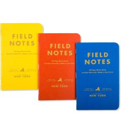 Field Notes New York County Fair Model Picutre