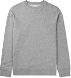 SUNSPEL Grey Melange Sweat Top Sweater Picutre