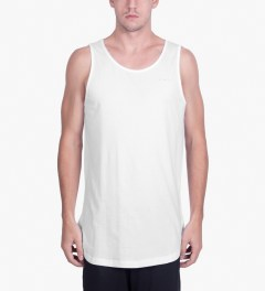 Publish White Terwyn Oversized Length Tank Top Model Picutre