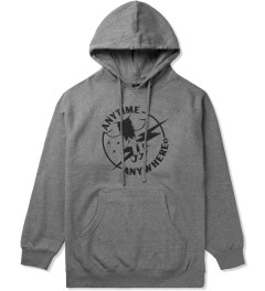 Heel Bruise Heather Grey AA Claw Pullover Hoodie Picutre
