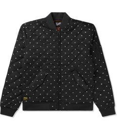 Primitive Black Dots Bomber Jacket Picutre