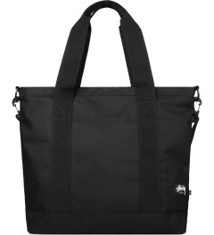 Stussy Black World Tour Tote Bag Picutre