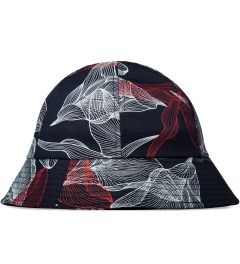 Publish Navy Dixon Signature Digital Floral Bucket Hat Picutre
