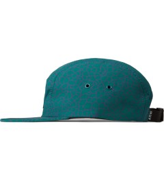 HUF Jade Quake Volley 5-Panel Cap Model Picutre
