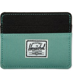 Herschel Supply Co. Seafoam/Black Charlie Cardcase Picutre