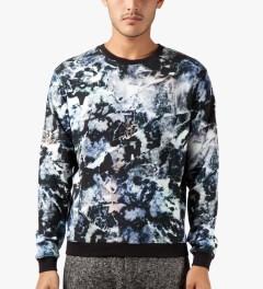 MSGM Marble Print Maglia Sweater Model Picutre