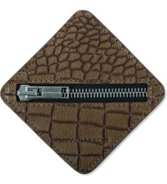 KRISVANASSCHE Brown Square Coin Purse Picutre