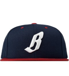Billionaire Boys Club Navy ML Snapback Cap Picutre