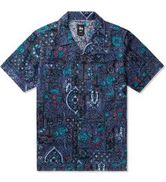 Stussy Navy Indo Shirt Picutre