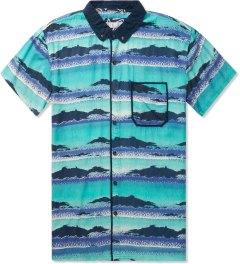 Volklore Blue Manic Shirt Picutre