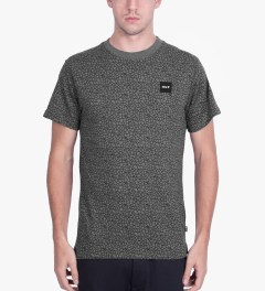 HUF Grey Quake T-Shirt Model Picutre